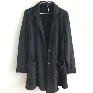 Free People Button Up Jacket
